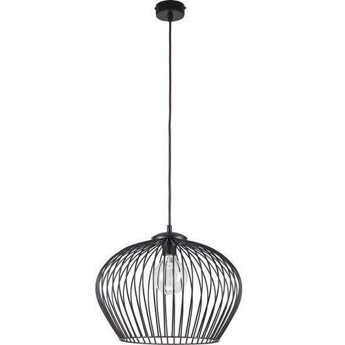 Lampa wisząca druciana TK Lighting Tina 1x60W E27 brąz 1494