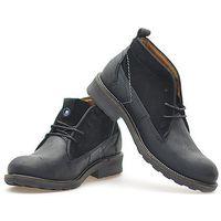 Półbuty Wrangler WM132051 Czarne, kolor czarny