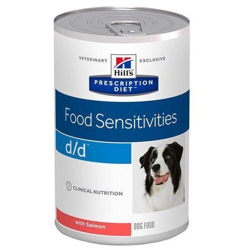 d/d food sensitivities - łosoś, 24 x 370 g  wygraj iphona xs - tylko w tym tygodniu   dostawa gratis od 89 zł marki Hills prescription diet