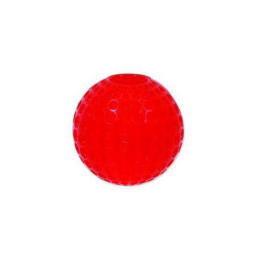 Plaček Zabawka dog fantasy strong piłeczka gumowa z wgłębieniami czerwona 9,5 cm