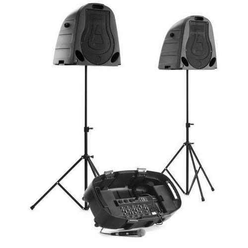 System mobilnego nagłośnienia sy-130 2 x 150w rms marki Secas