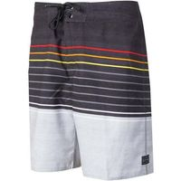Rip curl - line up 19 boardshort black/red (4019) rozmiar: 36