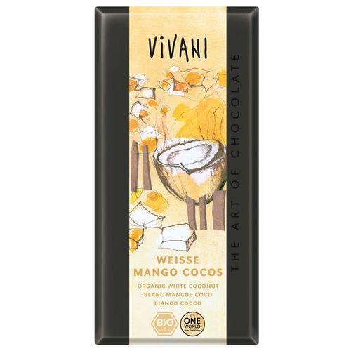 Vivani Czekolada biała mango kokosowo - jogurtowa bio 100g - (4044889001488)