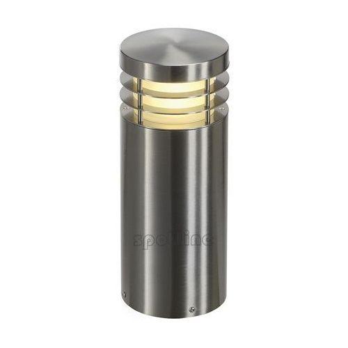 VAP 40 lampa podłogowa, okrągła, stal nierdzewna, E27,max.23W, IP44 (4024163134293)