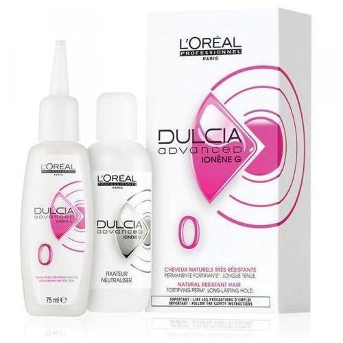 L'oréal professionnel dulcia advanced trwała ondulacja do włosów naturalnych, mocnych (0 perm lotion) 75 ml (3474630355217)
