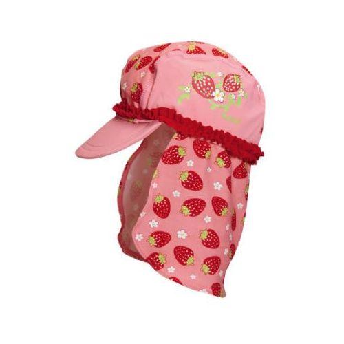 girls kapelusz przeciwsłoneczny truskawka kolor czerwony marki Playshoes