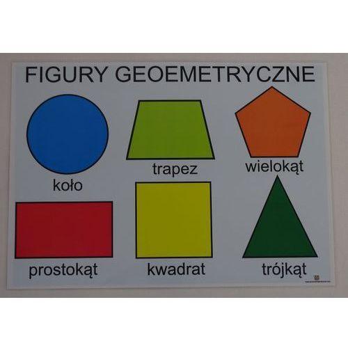 Podstawowe figury geometryczne - plansza demonstracyjna marki Bystra sowa