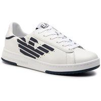 Ea7 emporio armani Sneakersy - x8x043 xk075 b139 white/navy