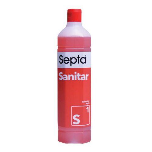 Septa Sanitar S1 (1 litr) - preparat do sanitariatów, POLSKA DYSTRYBUCJA! (5902989269353)