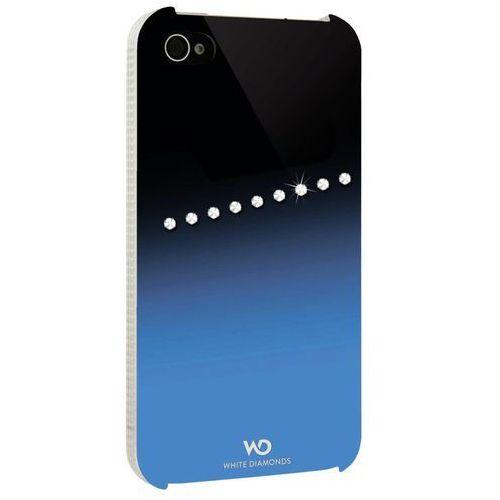 White diamonds Etui hama  sash do iphone 4 niebieski