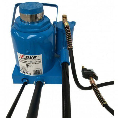 Podnośnik hydrauliczno-pneumatyczny słupkowy 50t marki Verke