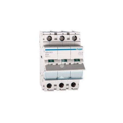 Rozłącznik modułowy 63A 3P SBN363, 3F3A-50318