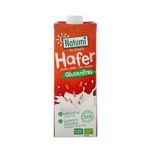 1l napój owsiany bezglutenowy niesłodzony bio marki Natumi