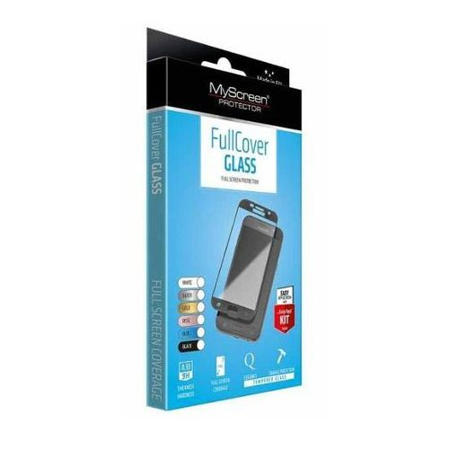 Szkło Hartowane MyScreen FullCover Glass Galaxy A5 2017 na cały ekran, złote z kategorii Futerały i pokrowce do telefonów
