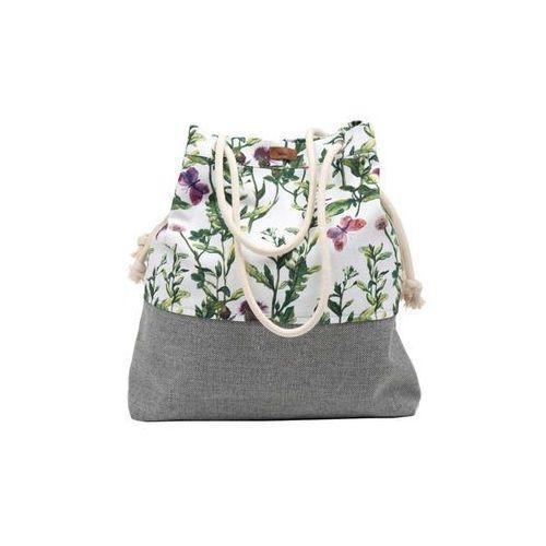 Me&bags Torba basic z tkaniny kwiaty