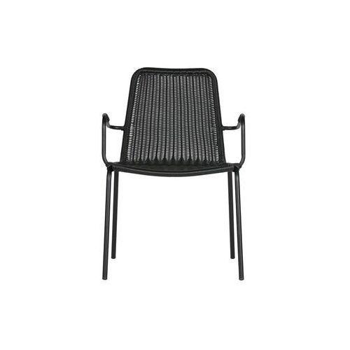 Woood Krzesło Wander czarne 373802-Z, kolor czarny