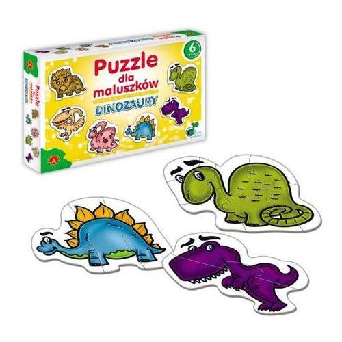 Dinozaury Puzzle dla maluszków (5906018005424)