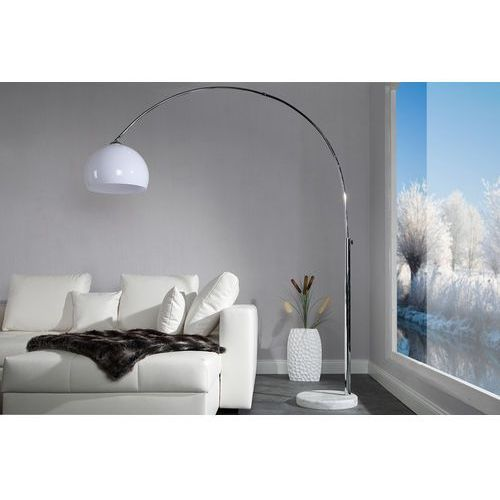 Interior Lampa podłogowa murano 175-205cm (biała) - biała ||biała 175-205cm