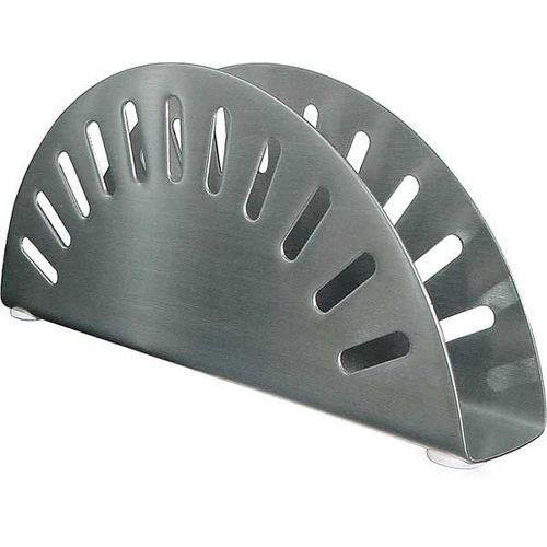 Serwetnik ze stali nierdzewnej satynowanej | 170x30x(H)70mm