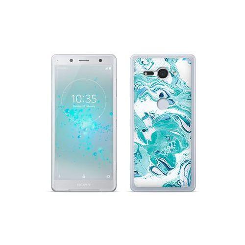 Etuo.pl Etuo fantastic case - sony xperia xz2 compact - etui na telefon fantastic case - niebieski marmur