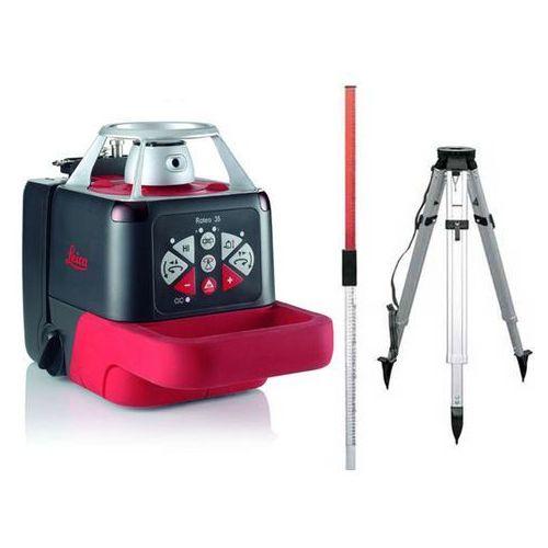 Leica Niwelator laserowy  roteo 35 wmr - statyw i łata