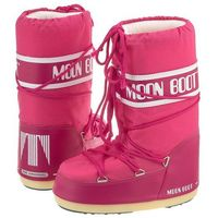 Śniegowce Moon Boot Nylon Bouganville Kids 14004400062 (MB14-c), kolor różowy