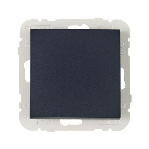 Włącznik krzyżowy LOGUS 90 Czarny EFAPEL (5603011637798)