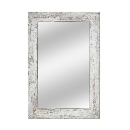 Lustro łazienkowe bez oświetlenia COUNTRY 90 x 60 cm DUBIEL VITRUM, kolor biały