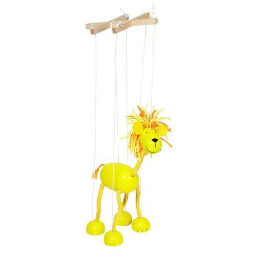 Drewniana marionetka, lew marki Goki