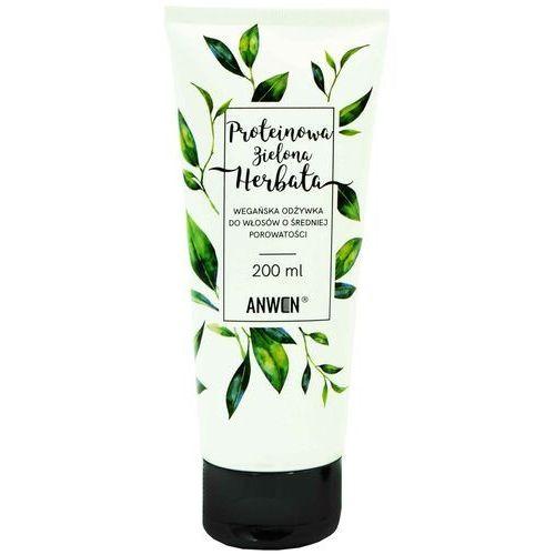 Anwen odżywka do włosów proteinowa zielona herbata 200ml (5907222404119)