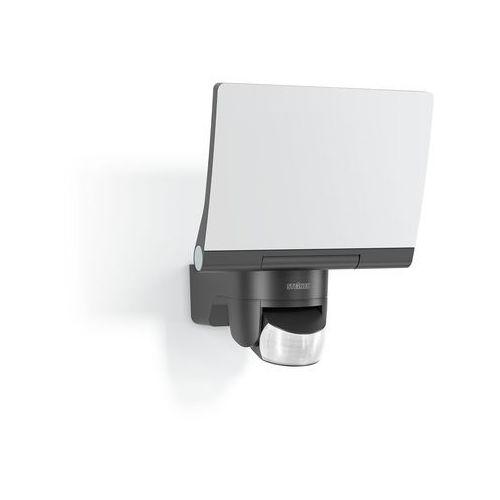 Reflektor zewnętrzny reflektor LED STEINEL XLED home 2 XL Grafitowy – duży czujnik o 140 ° czujnikiem ruchu i szerokości moc 20 W, z w pełni ruchomym panel LED, nowoczesny, reflektor z 4000 K światło neutralnie białym kolorze i 1608 LM, które pasuje do oświetlania dużych powierzchni, 030056 [klasa efektywności energetycznej A + + to a] (4007841030056)
