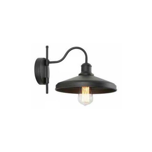 Lampex Mario 837/K kinkiet lampa ścienna 1x60W E27 czarny (5902622124728)