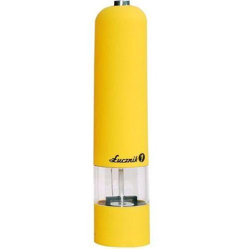 Łucznik Młynek do soli, pieprzu i przypraw pm-101 żółty (5902022180324)