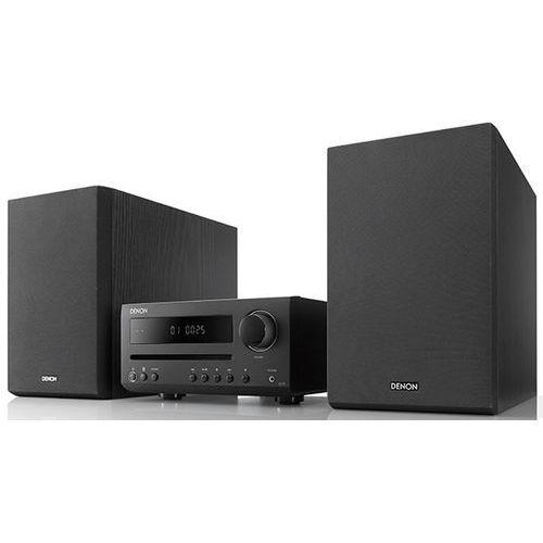 d-t1 czarny - mini wieża stereo z odtwarzaczem cd| raty 0% | gwarancja 3-lata marki Denon