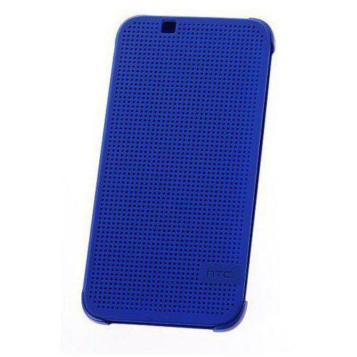 HTC M140 Dot View etui do Desire 620 (niebieskie) - niebieskie, kolor niebieski