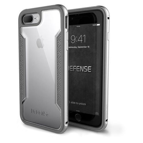 X-doria defense shield - etui aluminiowe iphone 7 plus (silver) (6950941449724)