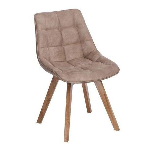 Krzesło Woody beżowe, d2-5375