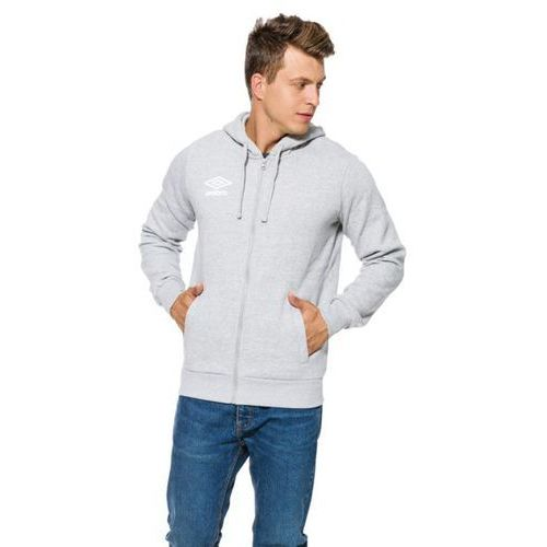 bluza fleece logo zip hoody marki Umbro