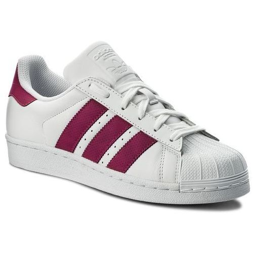 Buty adidas - Superstar J CQ2690 Ftwwht/Ftwwht/Cblack, kolor biały