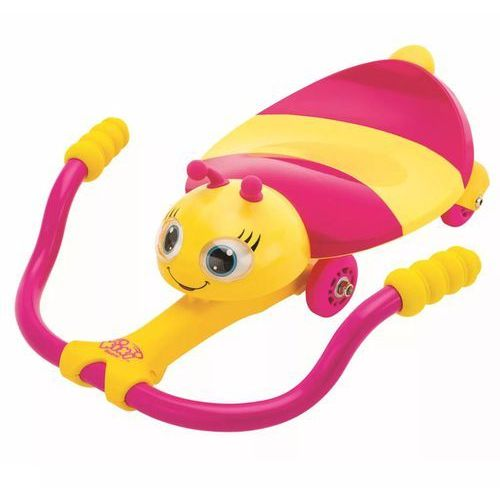 gokart dziecięcy go kart pszczółka, różowo-żółty, k02 marki Ak sports