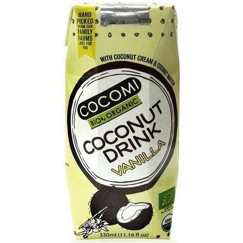 Cocomi (wody kokosowe, oleje kokosowe, śmietanki) Napój kokosowy o smaku waniliowym bio 330 ml - cocomi