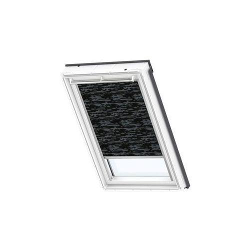 Velux Roleta zaciemniająca dkl mk06 4562s czarna ze wzorem 78 x 118 cm (5702327419392)