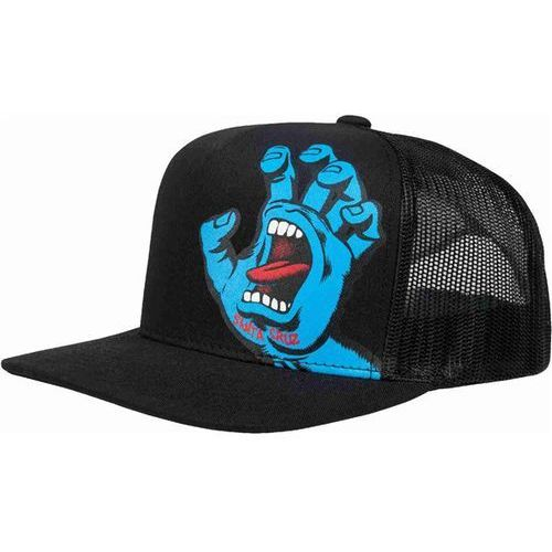 czapka z daszkiem SANTA CRUZ - Screaming Hand Mesh Back Black (BLACK) rozmiar: OS, kolor czarny
