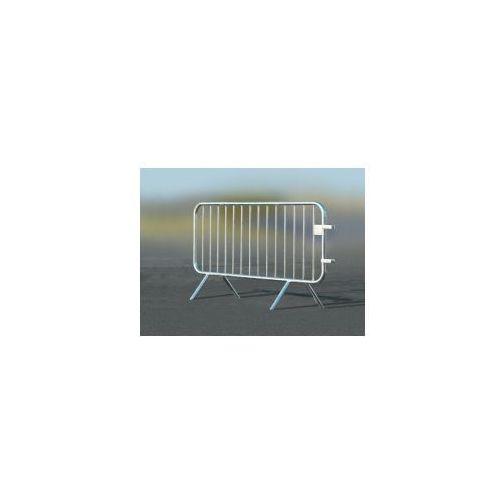 Barierka przenośna - długość 2000 mm, powierzchnia ocynkowana ogniowo