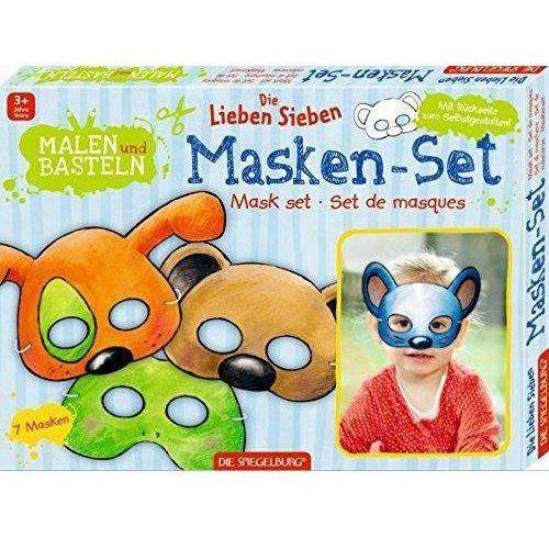 Zestaw kreatywny maski szczęśliwa siódem marki Spiegelburg