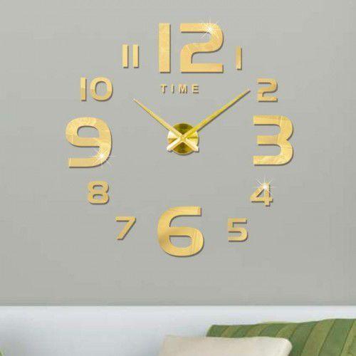 """Zegar ścienny """"zrób to sam"""" #22G4 złoty/315mm, DIY_DC22G4"""