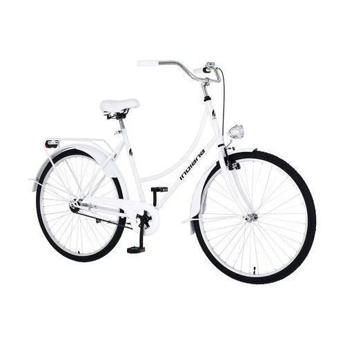 Rower INDIANA Moena 28 S1H Biały + 5 lat gwarancji na ramę! + DARMOWY TRANSPORT!