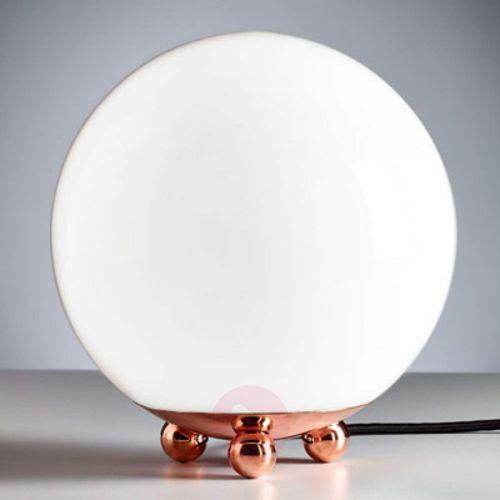 Lampa stołowa w stylu Art Deco z Francji miedziany
