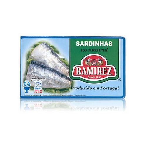 Sardynki portugalskie w sosie własnym 125g marki Ramirez