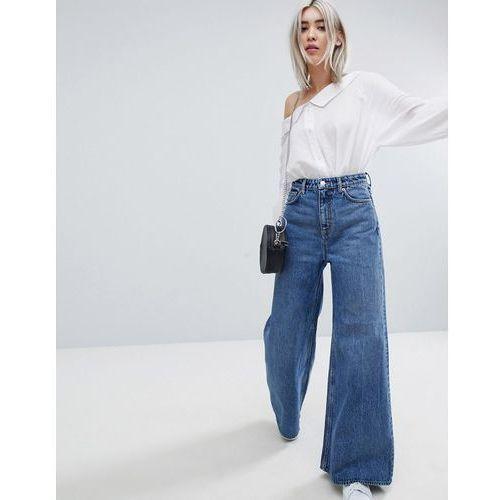 Weekday A-Line Wide Leg Jeans - Blue